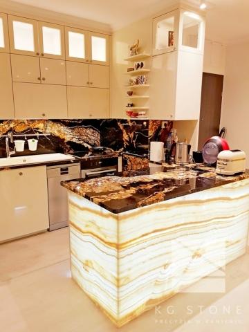 onyks - blaty w kuchni