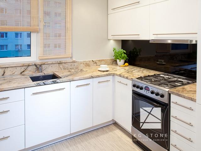 blaty kuchenne - granit Prada Gold