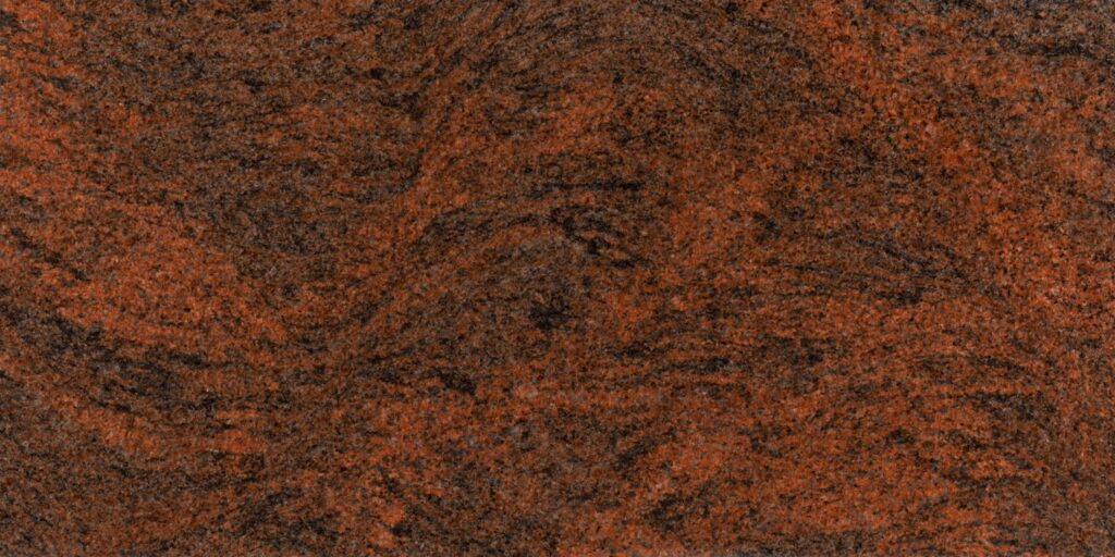 granit Multicolor Red poler