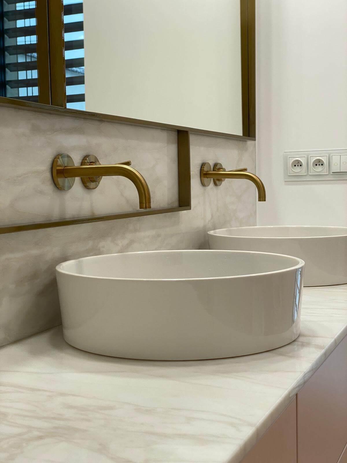 blaty łazienkowy marmurowy Argos